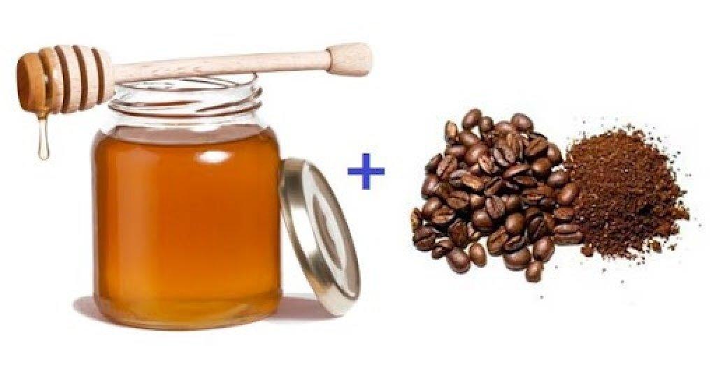 Скраб для тела мед и кофе